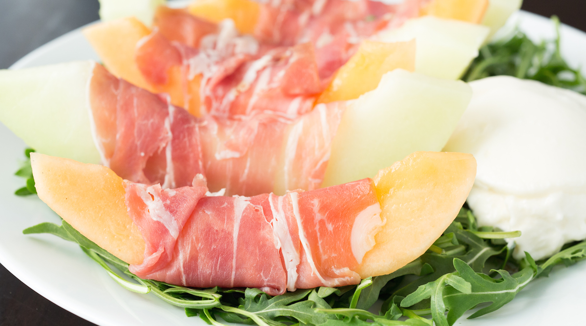 Prosciutto Melon Burrata Salad Recipe  Healthy Salad