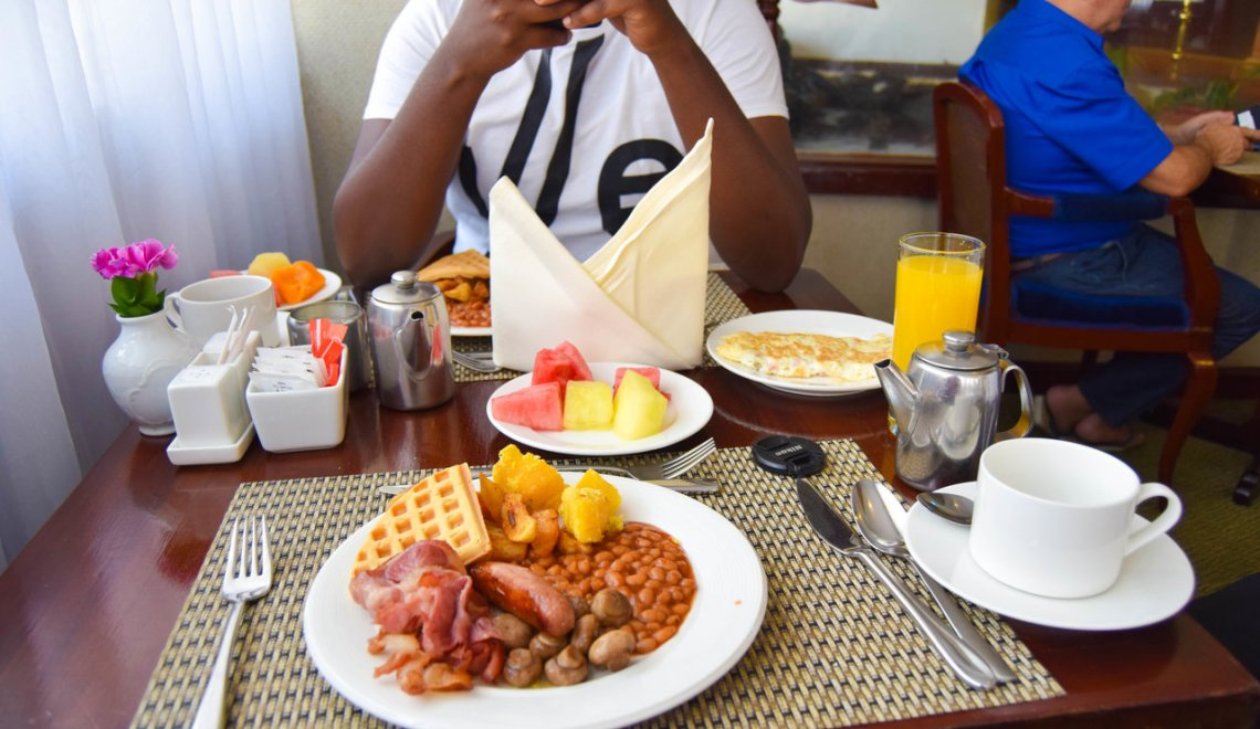 Breakfast At The Nairobi Safari Club