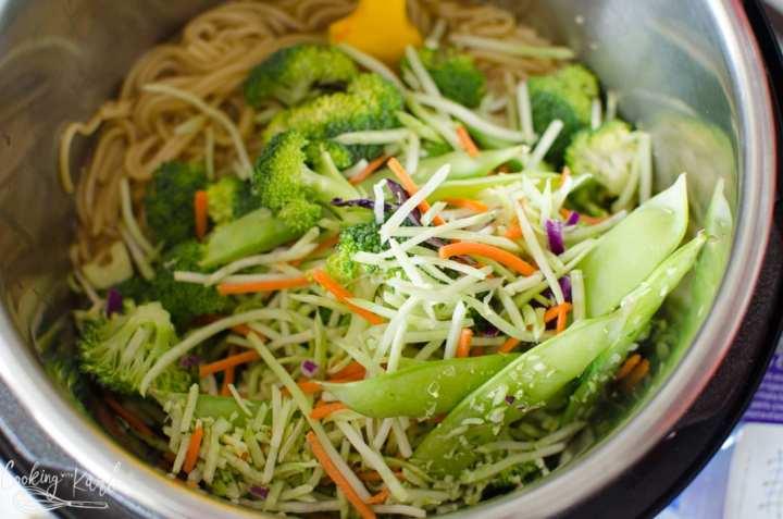 stir fry veggies added to the lo mein