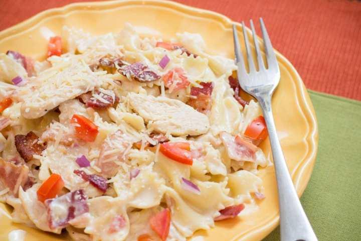 Instant Pot recipes- chicken carbonara