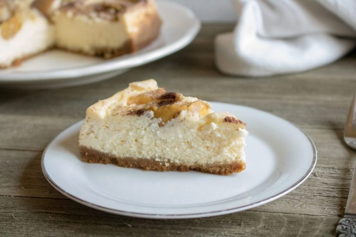 Instant Pot recipes- apple cheesecake