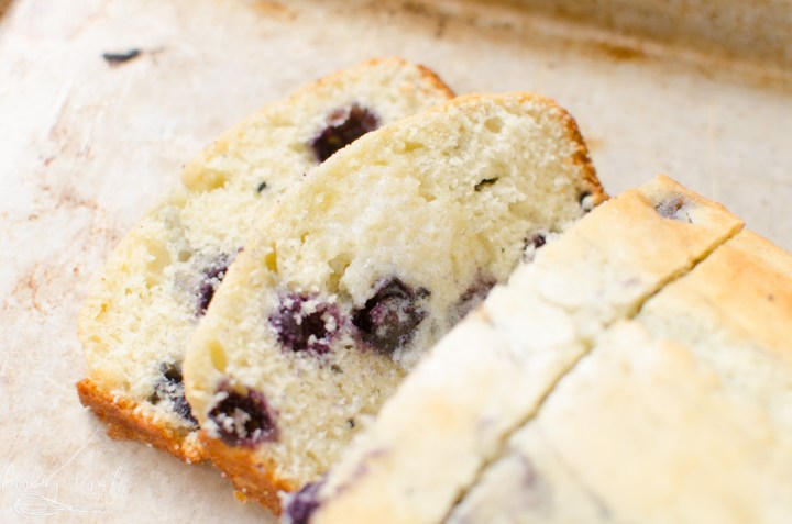 blueberry muffin and quick bread