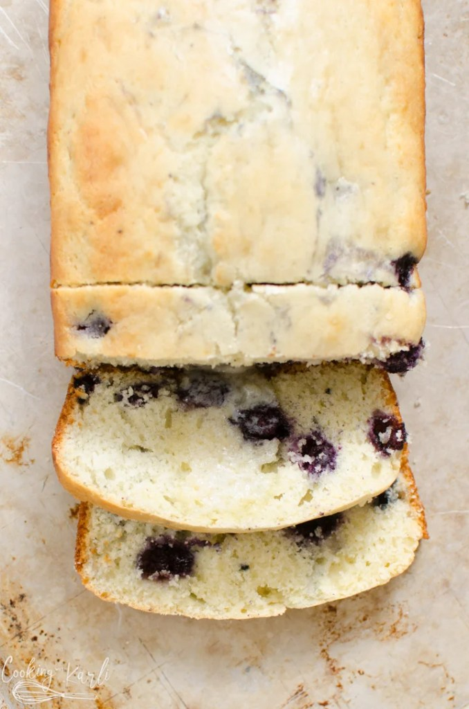 blueberry muffin quick bread