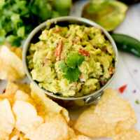 best guacamole recipe, served