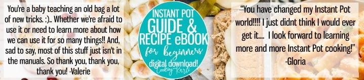 instant pot ebook for beginners