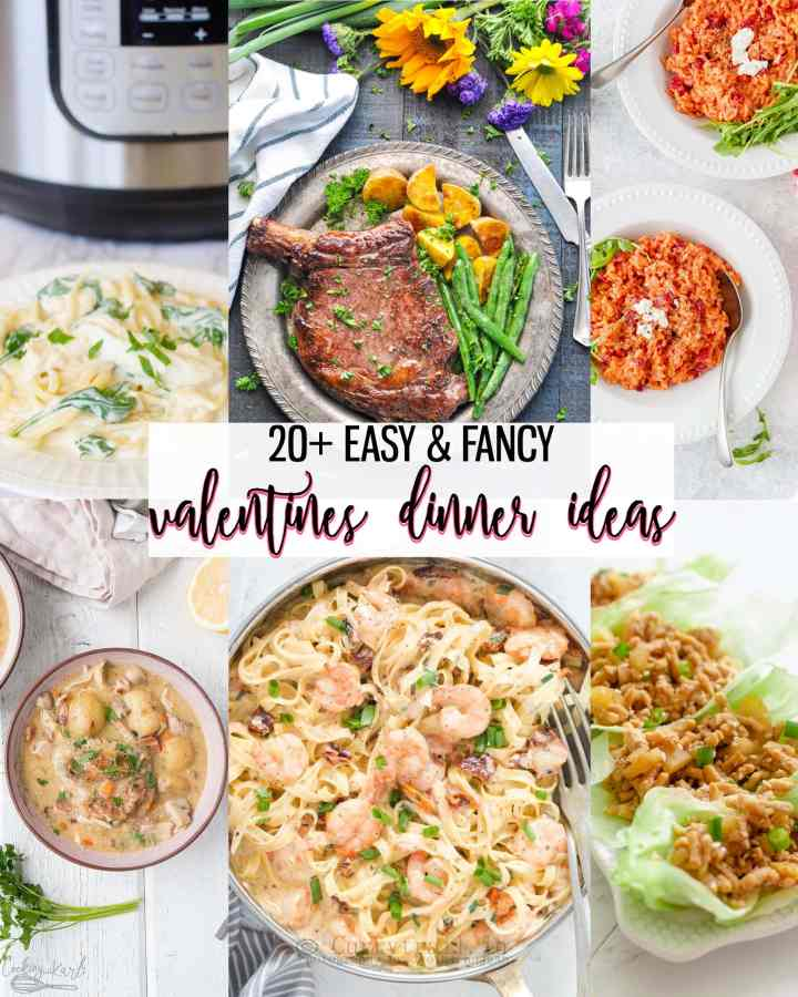 20+ Easy & Fancy Valentines Dinner Ideas