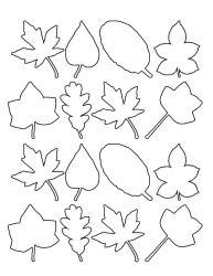leaf template tree thankful thanksgiving