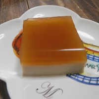 Coconut sugar pudding
