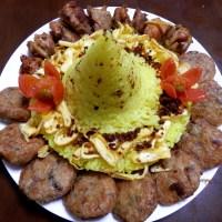 Tumpeng, Indonesian Birhtday Cake