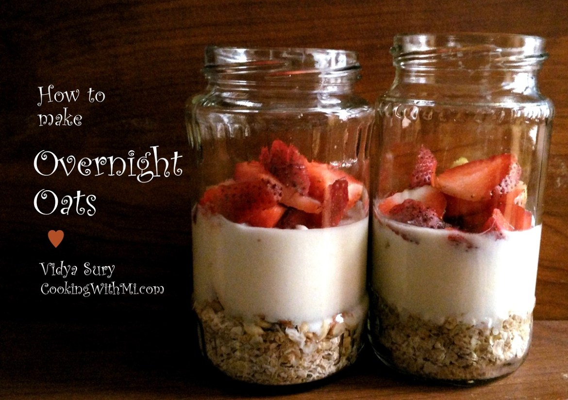 How to make overnight oats. Cooking With Mi