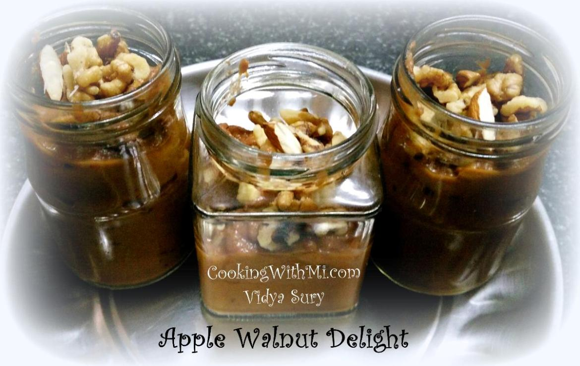 Apple Walnut Delight Cooking With Mi Vidya Sury