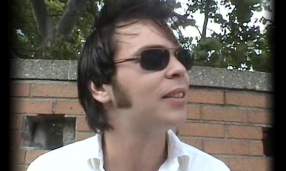 Gaz Coombes of Supergrass