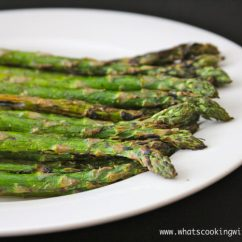 Summer Kitchen Ideas Laminate Grilled Asparagus - Cooking With Ruthie