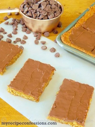 Lunch Lady Peanut Butter Bars Cooking With Ruthie