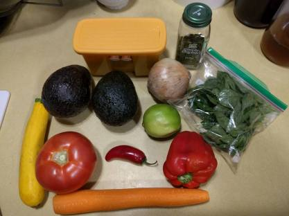 Veggies For Guacamole
