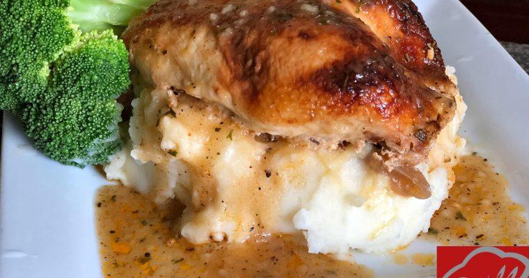 Buttermilk Roasted Chicken Recipe