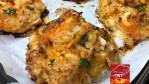 Shrimp Stuffed Crab Cakes