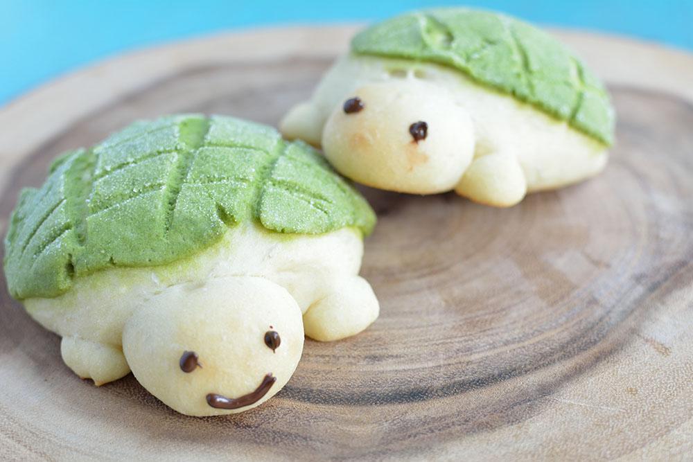 Turtle Bread  – Melonpan recipe