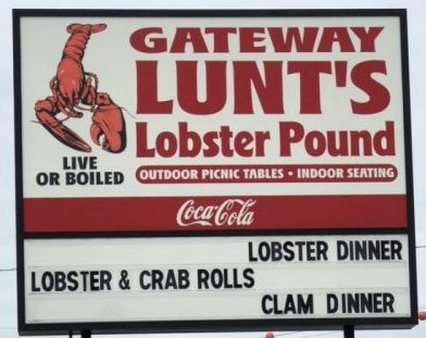 Visiting Lunt's Gateway Lobster Pound in Trenton, Maine, with Cooking with the Count sharing America!
