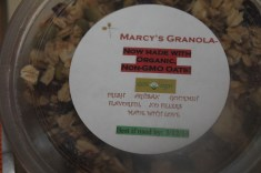 Granola - This is delicious.