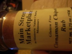 Cinnamon Chipotle Rub
