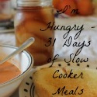 31 Days of Slow Cooking