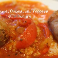 Sausage, Peppers, and Onions - Pressure Cooking Or Slow Cooker