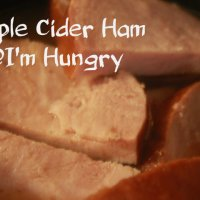 Apple Cider Ham (Slow Cooker)