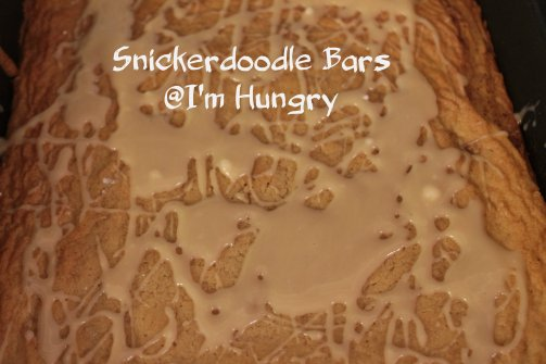 snickerdoodle bars