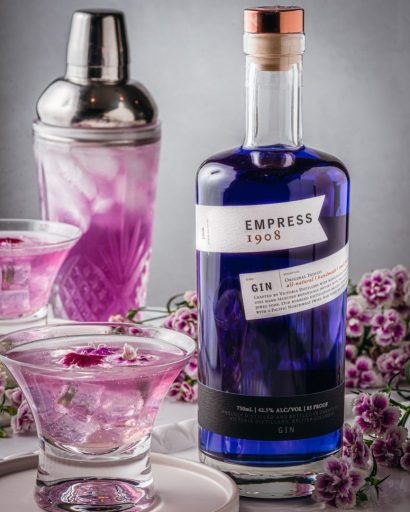 Empress Maid of Honor Gin Cocktail
