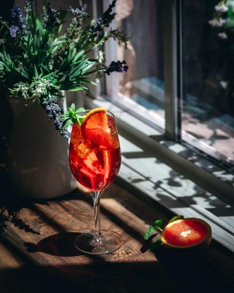 Aperol Elderflower Spritz