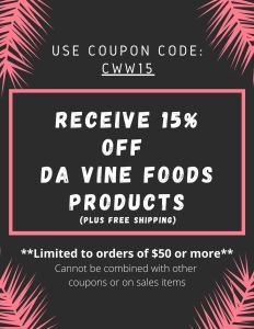 Da Vine Foods Discount Code
