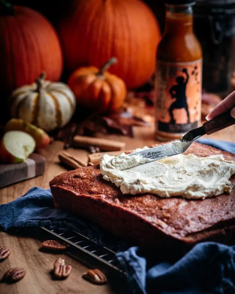 Passion Fruit Mascarpone Whipped Cream Frosting