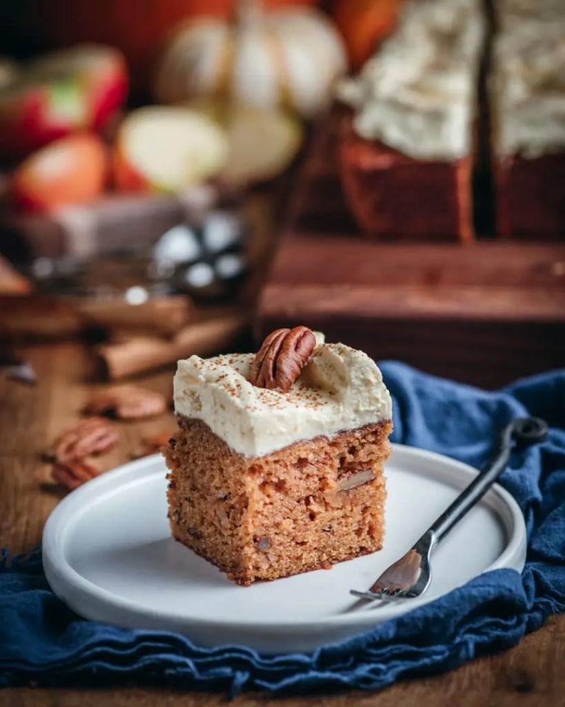 Pumpkin Passion Fruit Spice Cake