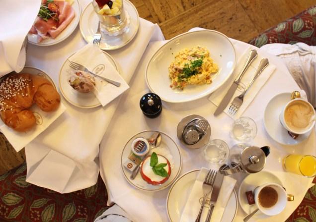 Das Café Landtmann in Wien, Österreich, von Melanie von Me Melanie.