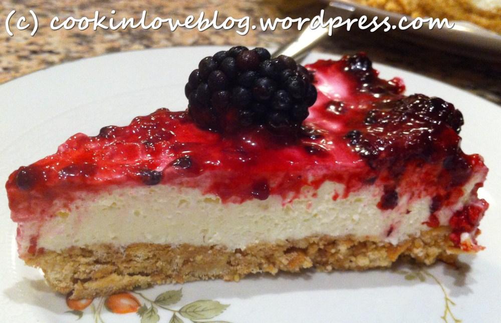 Cheesecake fredda alle more, prima che arrivi l'autunno! (2/6)