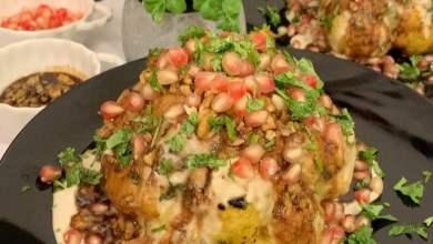 يسعد مساكم وصفتنا اليوم لذيذة ومميزة للعشاء الزهره المشوية بصوص الطحينة والجوز ن