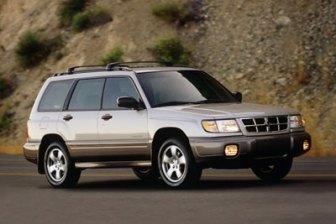 2000 Subaru forester towing capacity