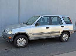 2001 Honda CRV Towing Capacity