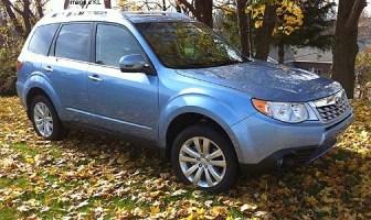 2011 Subaru Forester Towing Capacity