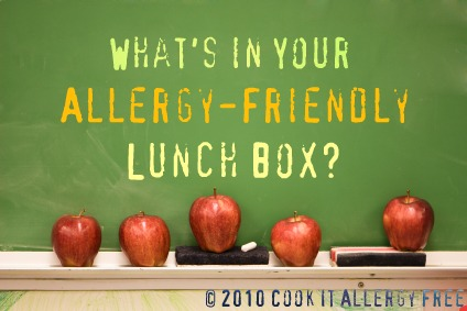 Allergy Free Lunch box Ideas