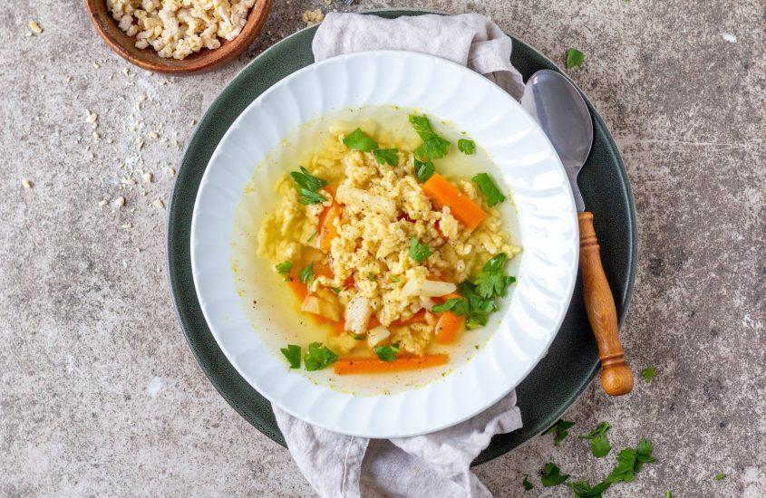 Reibgerstel Suppe