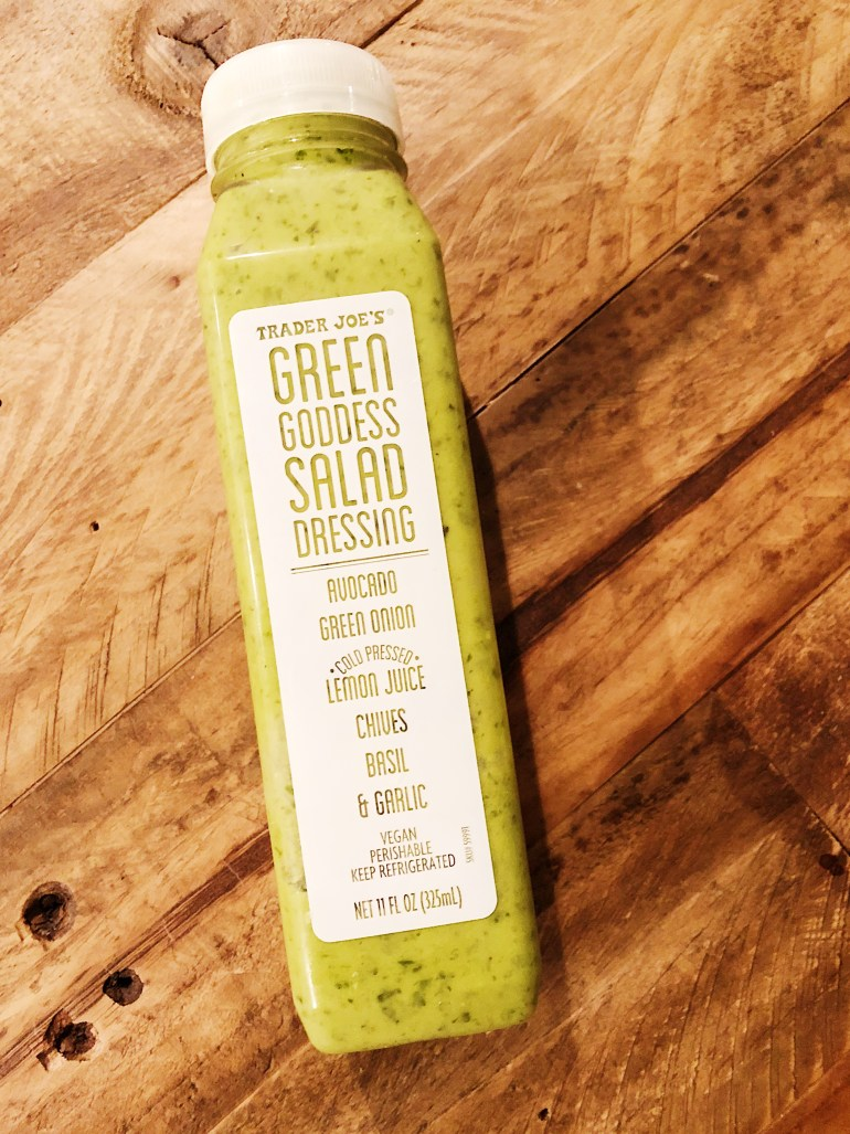 Trader Joe's healthier Green Goddess Salad Dressing- Product Review/Cook It Healthier