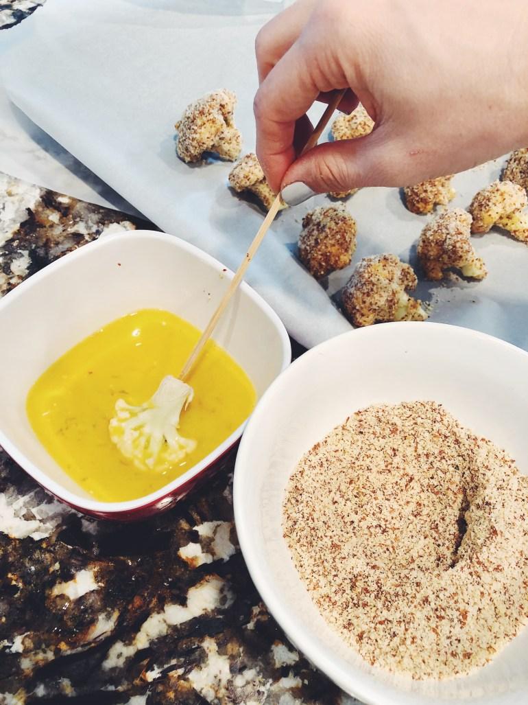 Honey-Garlic Glazed Baked Cauliflower - Cook It Healthier