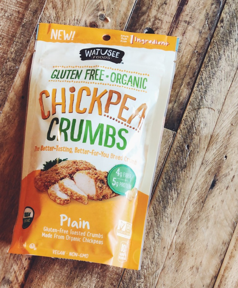 Product Review | Watusee Chickpea Crumbs | Cook It Healthier