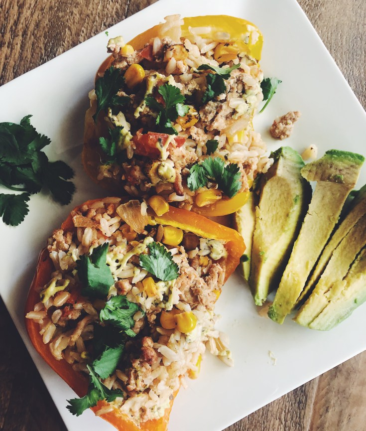 Tex-Mex Turkey Stuffed Peppers Recipe | Cook It Healthier