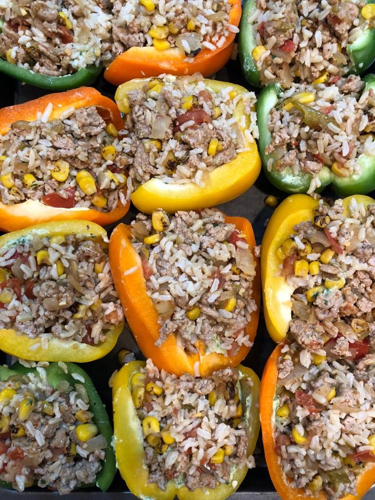 Tex-Mex Turkey Stuffed Peppers Recipe | Cook It Healthier