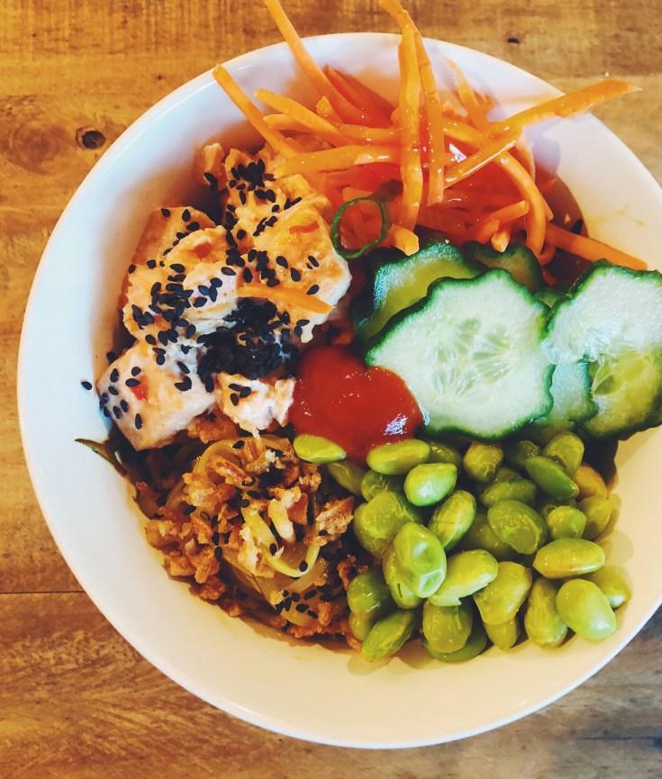 Salmon Poke Bowl Recipe Cook It Healthy