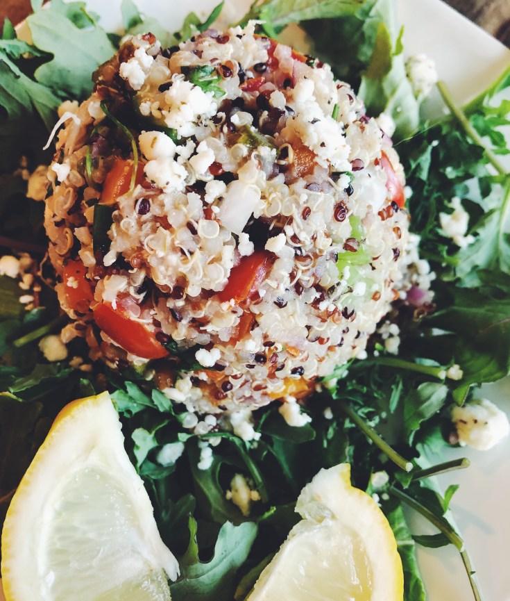 Rainbow Quinoa Veggie Salad | Recipe from Cook It Healthier