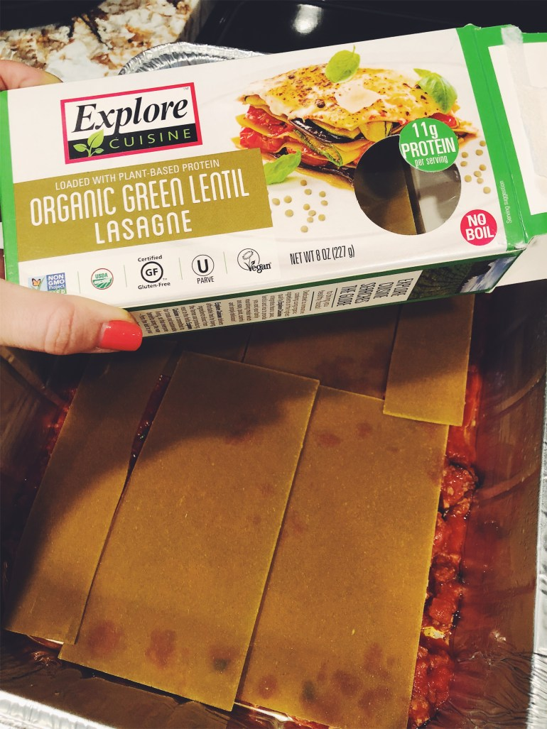 RECIPE | Mary's Delicious Protein Lasanga